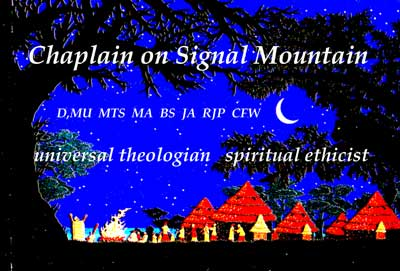 Chaplain on Signal Mountain graphic